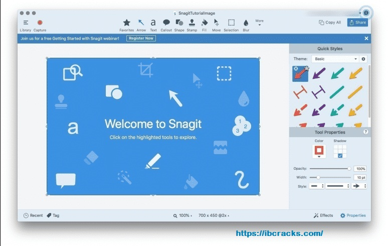 Snagit 2020.1.5 Build 7133 Crack With Serial Key [ Latest Version ] Free Download